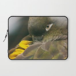 Burrowing Parrot Laptop Sleeve