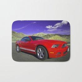 Mustang Coupe Bath Mat