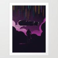 Blade Runner 2049 (Dark) Art Print
