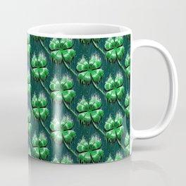 Four Leaf Clover Melting Luck Coffee Mug