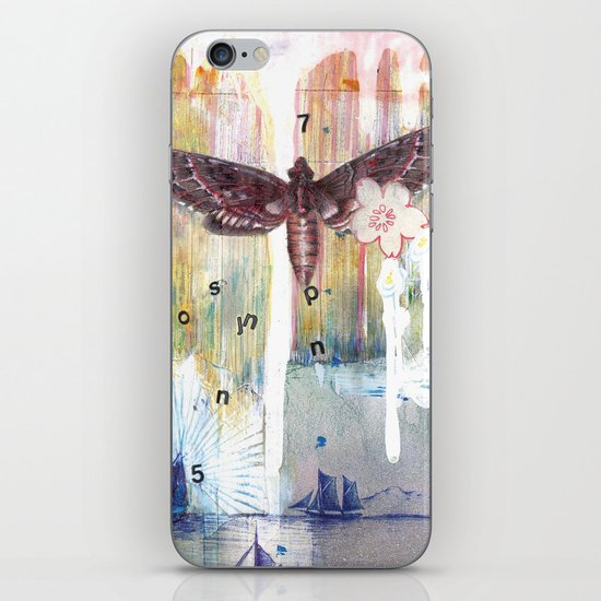 When Words Are Silent iPhone Skin