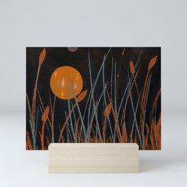 Autumn Moon #Original Art Mini Art Print