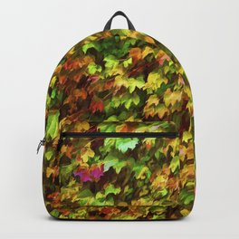 Wall of Ivy Backpack