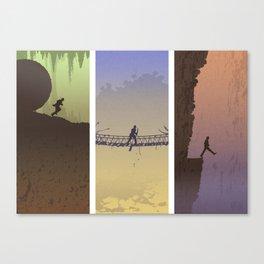 Fortune & Glory Canvas Print