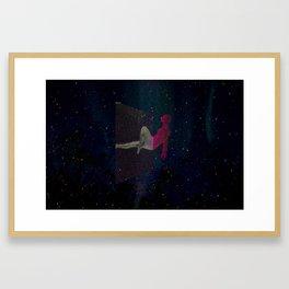 Cubose Landscape Framed Art Print