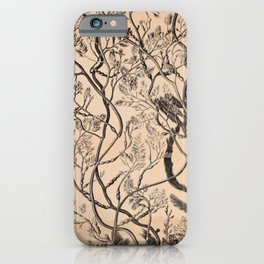 Naturalist Seaweed iPhone Case