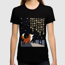 Fox and stars T-shirt