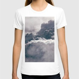 Heavy Thunder Clouds - Spectacular Aerial Photography T-shirt