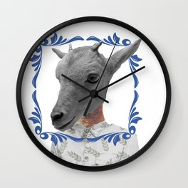 Country guy Wall Clock