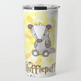 Hufflepuff - H a r r y P o t t e r inspired Travel Mug