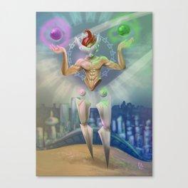 Libra - Zodiac King Canvas Print