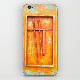 Cross I iPhone Skin