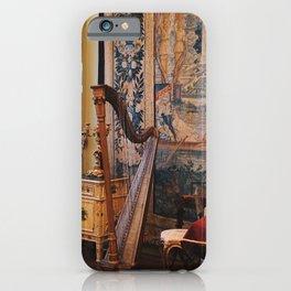 Harp in the Garner Museum iPhone Case