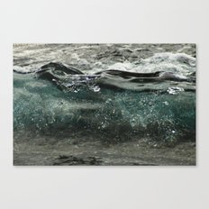 wave forming Canvas Print