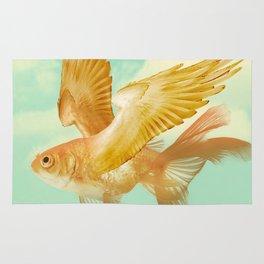 Flying Goldfish Rug