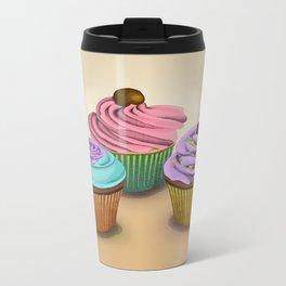 Cupcakes!  Metal Travel Mug