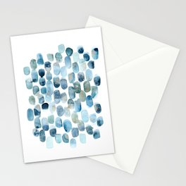 Spring Rain I Art Print Stationery Cards