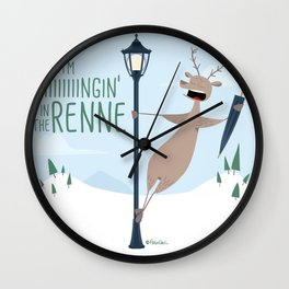 Singing in the Renne Wall Clock