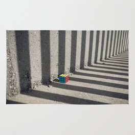 Rubik shading stripes Rug