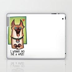 I wanna go for a walk ! Laptop & iPad Skin