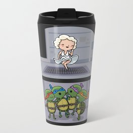 Teenage mutant ninja perverts Metal Travel Mug