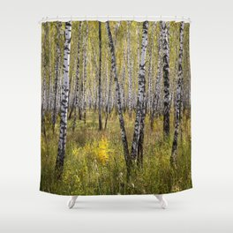 Sea of Trees Shower Curtain