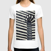 striped T-shirts featuring Striped by farsidian