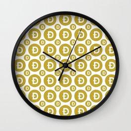 Doge - Crypto Fashion Art (Medium) Wall Clock