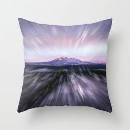 Spanish Peaks Zoom Throw Pillow