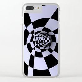 opart -60- inside the donut Clear iPhone Case
