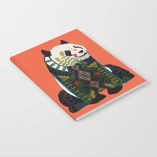 panda orange Notebook
