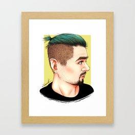 Good Bean Framed Art Print