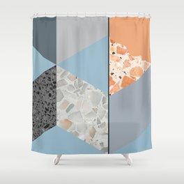 Terazzo Tiles Shower Curtain