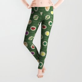 Deconstruction Pizza Leggings