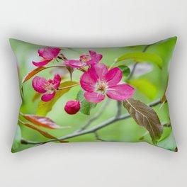Pink Apple blossom Rectangular Pillow