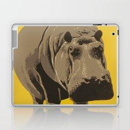 Vintage Visit The Zoo Hippo Laptop & iPad Skin