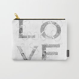 Tangled Love Carry-All Pouch