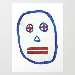 Meeb two. Art Print