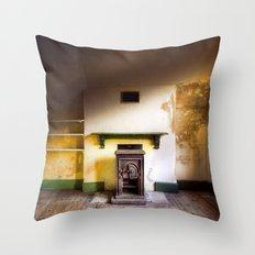 Empty Room Throw Pillow