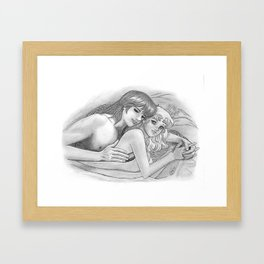 Candy Candy loved Framed Art Print