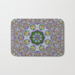 summer bloom in floral spring time Bath Mat