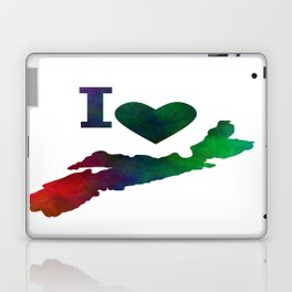 I Love Nova Scotia Laptop & iPad Skin