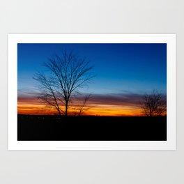 Caledon Sunset Art Print
