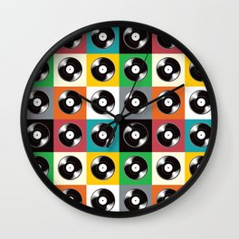 Now Spinning Pop Wall Clock