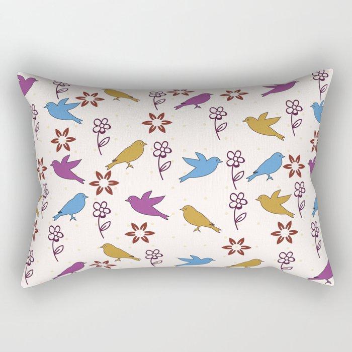Cute Pattern 4 Rectangular Pillow