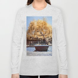 Autumn Colors Bench Long Sleeve T-shirt