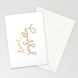Live Joyfully Stationery Cards
