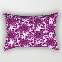 Hearts of Exploding Love Rectangular Pillow