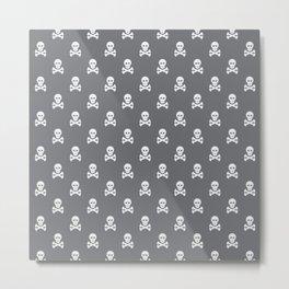 Scull pattern Metal Print