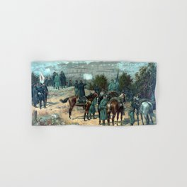 Missionary Ridge -- The Battle Of Chattanooga Hand & Bath Towel